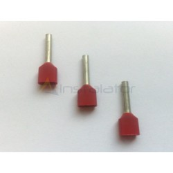 Końcówka kablowa tulejkowa podwójna 2x1,0 mm2 100 sztuk
