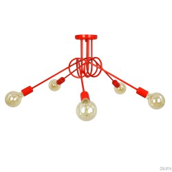 Lampa Nordic 5 Red
