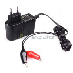 Ładowarka 12V LED 0,7A do akumulatorów żelowych (do 12 Ah)