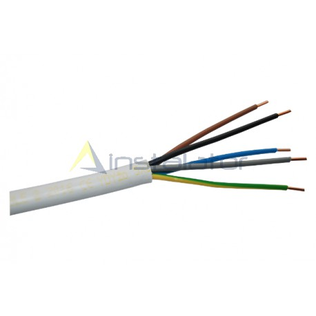 Przewód instalacyjny YDY 5x2,5