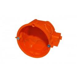 Puszka podtynkowa 60 mm szeregowa, płytka, z wkrętami