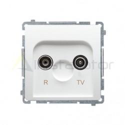 Gniazdo antenowe R-TV końcowe separowane (moduł) SIMON BASIC
