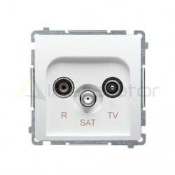 Gniazdo antenowe R-TV-SAT końcowe (moduł) SIMON BASIC
