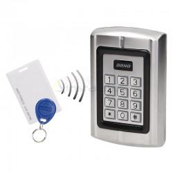 Zamek szyfrowy z czytnikiem kart i breloków zbliżeniowych IP44 ORNO