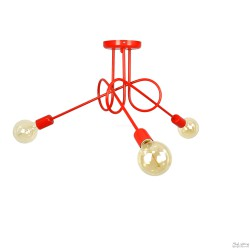 Lampa Nordic 3 Red