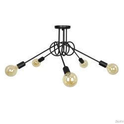 Lampa Nordic 5 Black