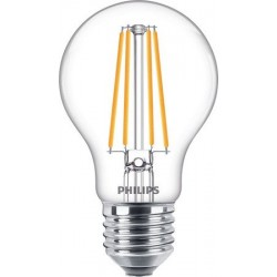 Żarówka LED E27 PHILIPS filament 8W (75W) 1521lm