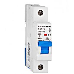 Wyłącznik nadprądowy - bezpiecznik SCHRACK 16A B
