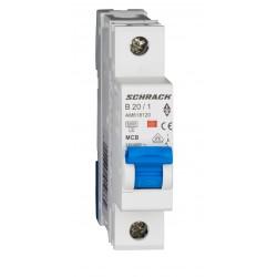 Wyłącznik nadprądowy - bezpiecznik SCHRACK 20A B
