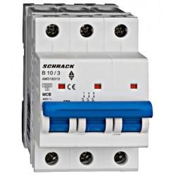 Wyłącznik nadprądowy - bezpiecznik SCHRACK 10A B