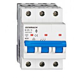 Wyłącznik nadprądowy - bezpiecznik SCHRACK 25A B
