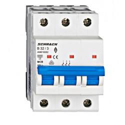 Wyłącznik nadprądowy - bezpiecznik SCHRACK 32A B