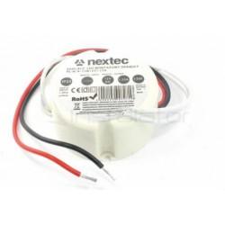 Zasilacz LED NEXTEC montażowy 12V/1,25A IP20 15W