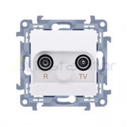 Gniazdo antenowe R-TV końcowe separowane
